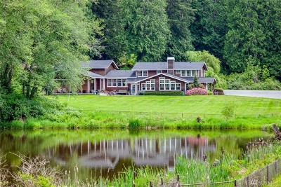 Poulsbo Single Family Home For Sale: 4811 Orseth Rd NE