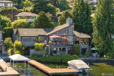 Lake Forest Park Single Family Home For Sale: 15110 Beach Dr NE