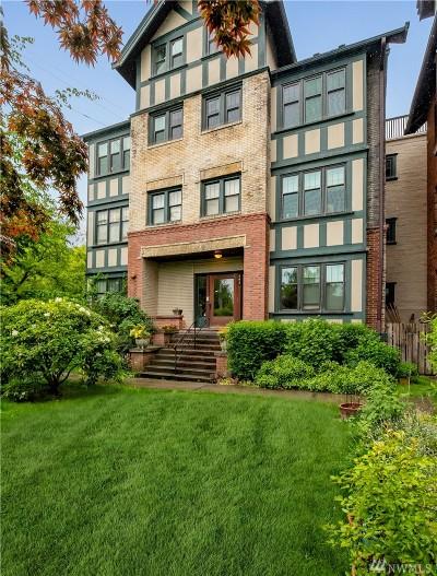 Condo/Townhouse For Sale: 403 16th Ave E #F