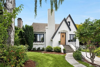 Seattle Single Family Home For Sale: 1851 McGilvra Blvd E
