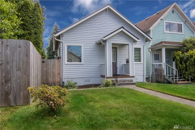 Everett Single Family Home For Sale: 2605 Walnut St