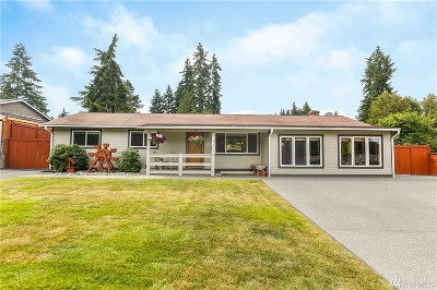 Bothell Single Family Home For Sale: 2814 Stafford Wy