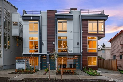 Seattle Single Family Home For Sale: 4312 Whitman Ave N