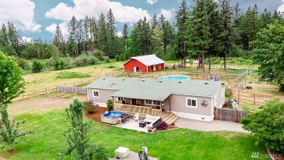 Yelm Single Family Home For Sale: 17420 153rd Ave SE