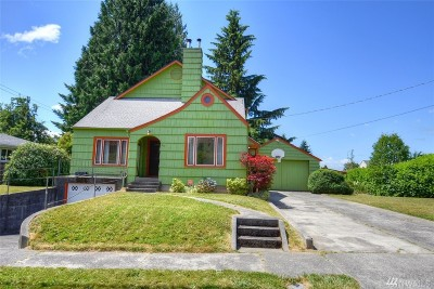 Olympia Single Family Home For Sale: 915 Central St SE