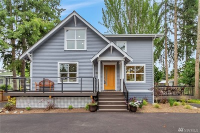 Shoreline Single Family Home For Sale: 18704 Meridian Ave N