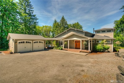 Olympia Single Family Home For Sale: 4804 Sunset Dr NW