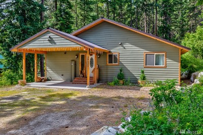 Chelan County Single Family Home For Sale: 24625 Spur St