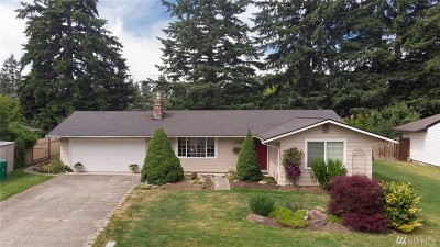 Marysville Single Family Home For Sale: 4619 123rd Place NE