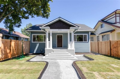 Seattle Single Family Home For Sale: 5446 35th Ave SW