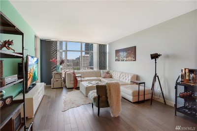 Seattle Condo/Townhouse For Sale: 588 Bell St #403S