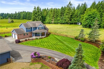 Thurston County Single Family Home For Sale: 6716 Fish Pond Creek Dr SW