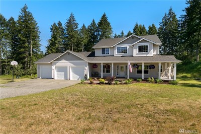 Yelm Single Family Home For Sale: 21115 Hobson Rd SE