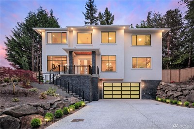 Mercer Island WA Single Family Home For Sale: $2,448,000