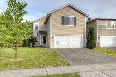 Pierce County Single Family Home For Sale: 9550 187th St Ct E