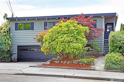 Seattle Single Family Home For Sale: 4013 55th Ave SW