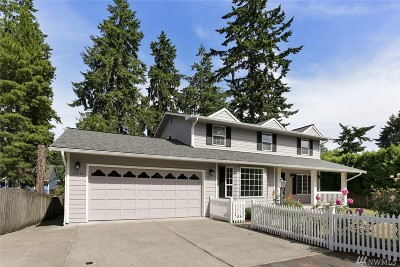 Shoreline Single Family Home For Sale: 15236 Greenwood Ave N