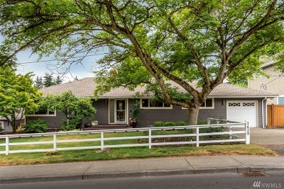 Bellevue Single Family Home For Sale: 1429 108th Ave SE
