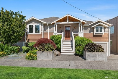 Seattle Single Family Home For Sale: 3412 37th Ave W