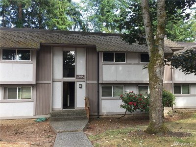 Federal Way Condo/Townhouse For Sale: 4601 SW 320th St #C-1