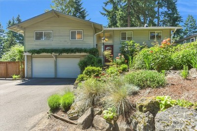 Bellevue Single Family Home For Sale: 12647 SE 27th St