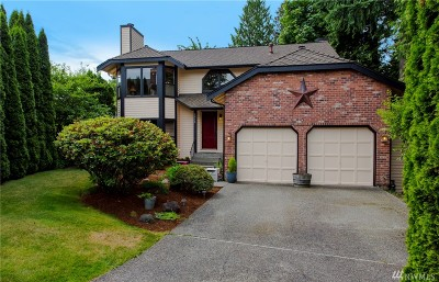 Bothell Single Family Home For Sale: 1918 238 St SE
