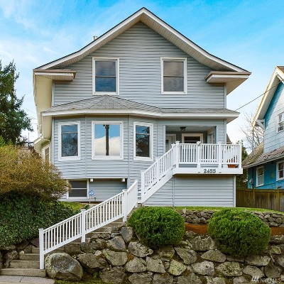 Seattle Single Family Home For Sale: 2455 3rd Ave W