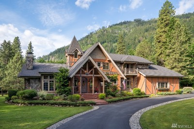 Chelan County Single Family Home For Sale: 12801 Spring St