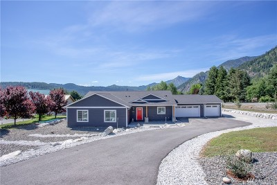 Chelan County Single Family Home For Sale: 12395 W Emig