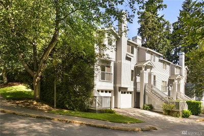 Redmond Condo/Townhouse For Sale: 9317 179th Place NE #4