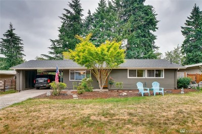 Bellevue Single Family Home For Sale: 105 152nd Place SE