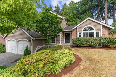Sammamish Single Family Home For Sale: 2832 234th Place NE