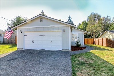 Olympia Single Family Home For Sale: 9848 Overlook Dr NW