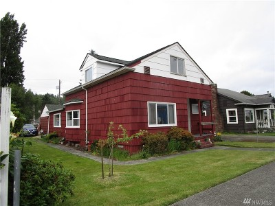 Grays Harbor County Single Family Home For Sale: 2623 Bay Ave
