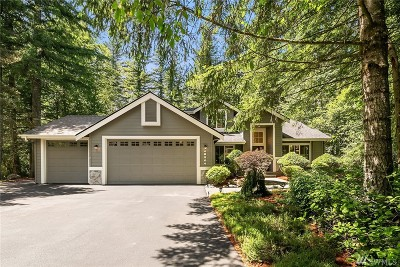 North Bend WA Single Family Home For Sale: $849,950