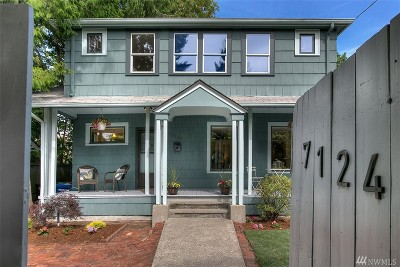 Seattle Single Family Home For Sale: 7124 Wright Ave SW