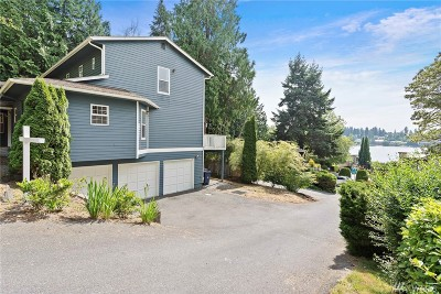 Kirkland Single Family Home For Sale: 4558 Lake Washington Blvd NE