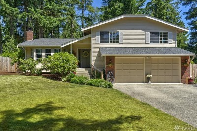 Pierce County Single Family Home For Sale: 1523 119th St Ct NW