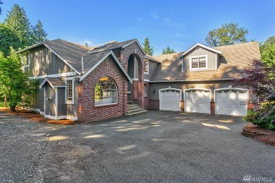 Snohomish Single Family Home For Sale: 18327 Yew