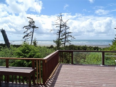 Grays Harbor County Single Family Home For Sale: 12 S Copalis Rock Lane