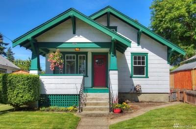Tacoma Single Family Home For Sale: 3008 S Washington St