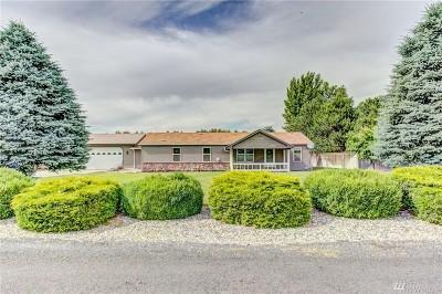 Moses Lake Single Family Home Contingent: 11332 Thompson Place NE