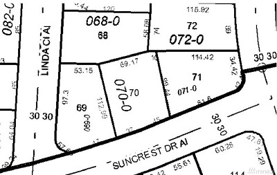 Pierce County Residential Lots & Land For Sale: 10307 Suncrest Dr