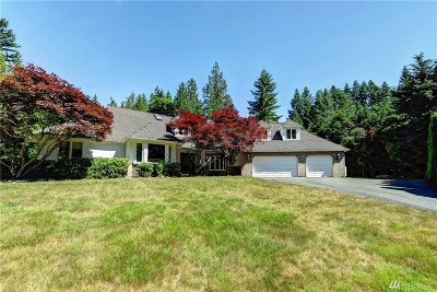 Snohomish Single Family Home For Sale: 19721 76th Ave SE