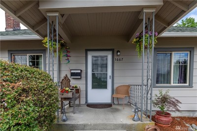 Tacoma Single Family Home For Sale: 1667 S 42nd St