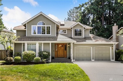 Redmond Single Family Home For Sale: 13916 175th Place NE
