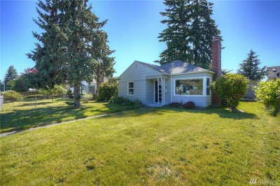 Pierce County Single Family Home For Sale: 1524 S Anderson St
