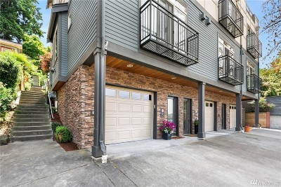 Seattle Condo/Townhouse For Sale: 8 Florentia St #C