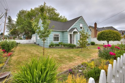 Grays Harbor County Single Family Home For Sale: 724 6th St