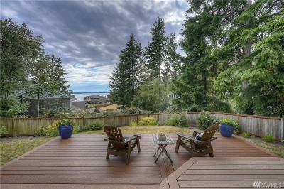 Gig Harbor Single Family Home For Sale: 8408 Shawnee Ct NW
